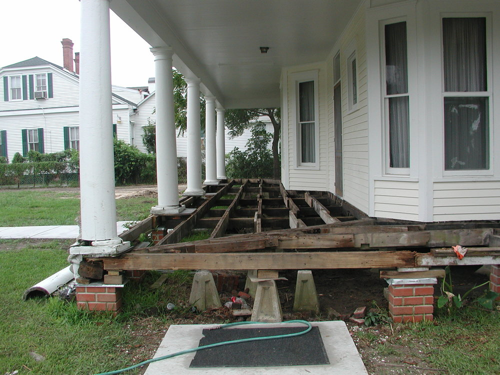 Porch Rebuild 2006