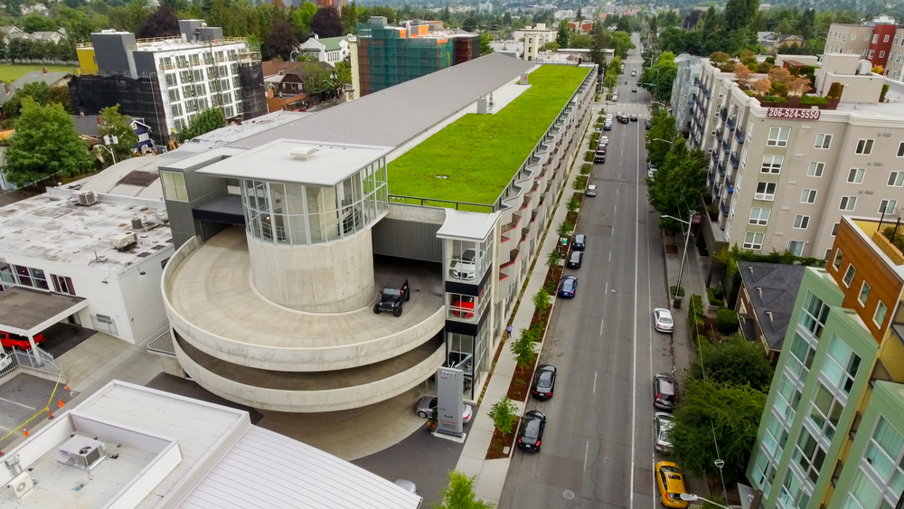 Portfolio Inland Waterproofing - Audi seattle