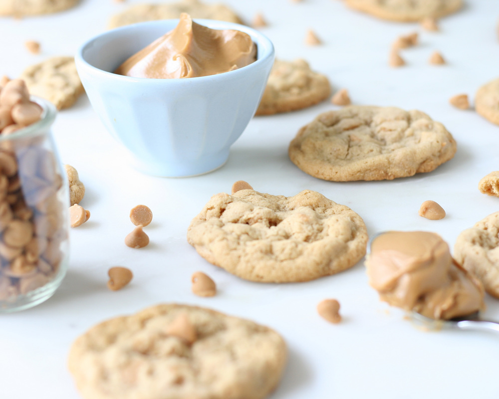peanut butter cookies | sarah makes stuff