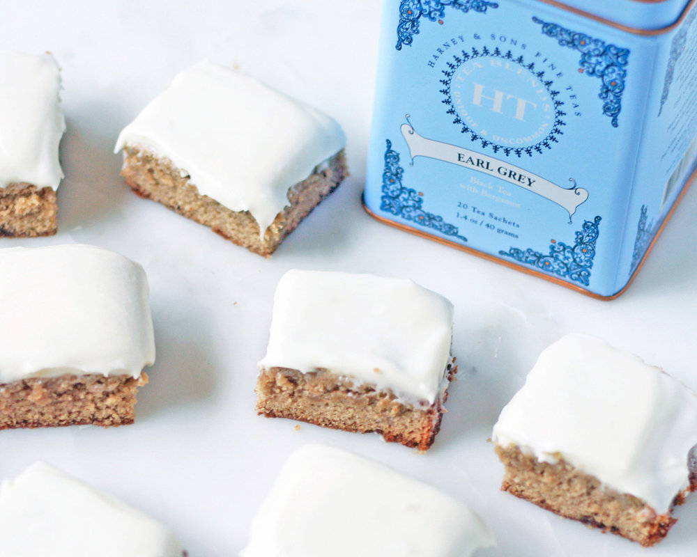 london fog blondies | sarah makes stuff