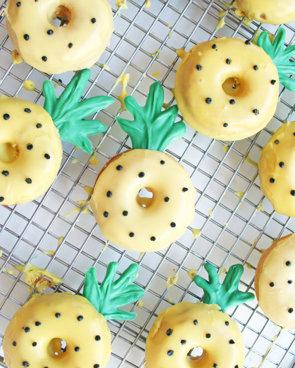 pineapple donuts | sarah makes stuff