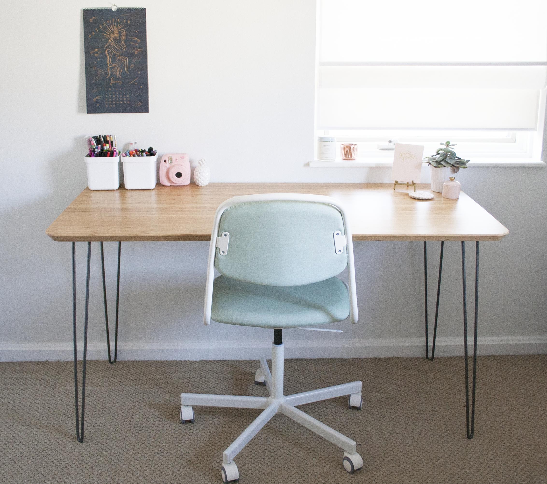 Picture of: Ikea Hack Mid Century Modern Desk Sarah Makes Stuff