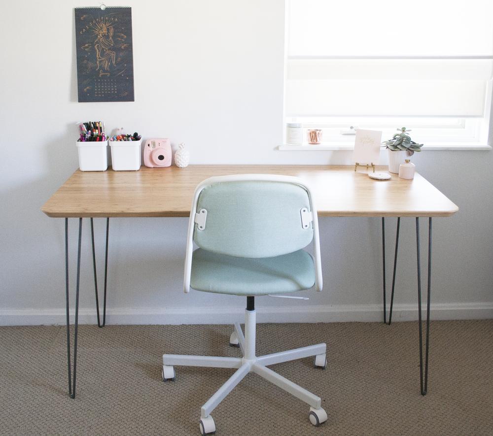 Ikea Hack Mid Century Modern Desk