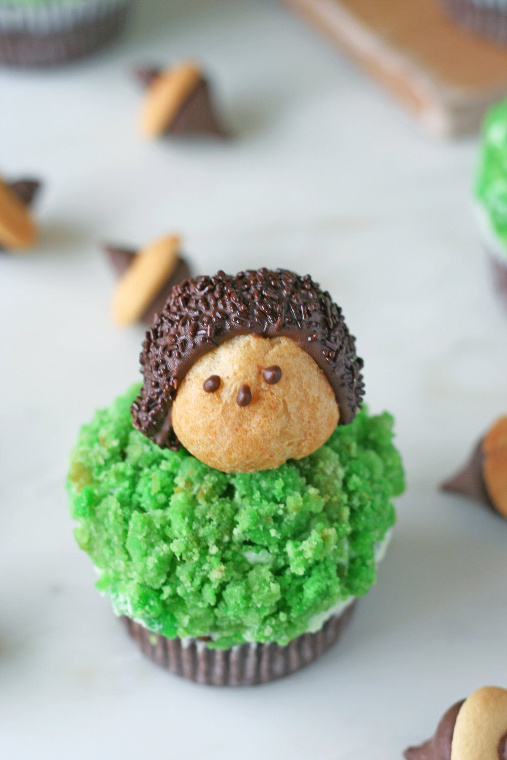 woodland cupcakes | sarah makes stuff