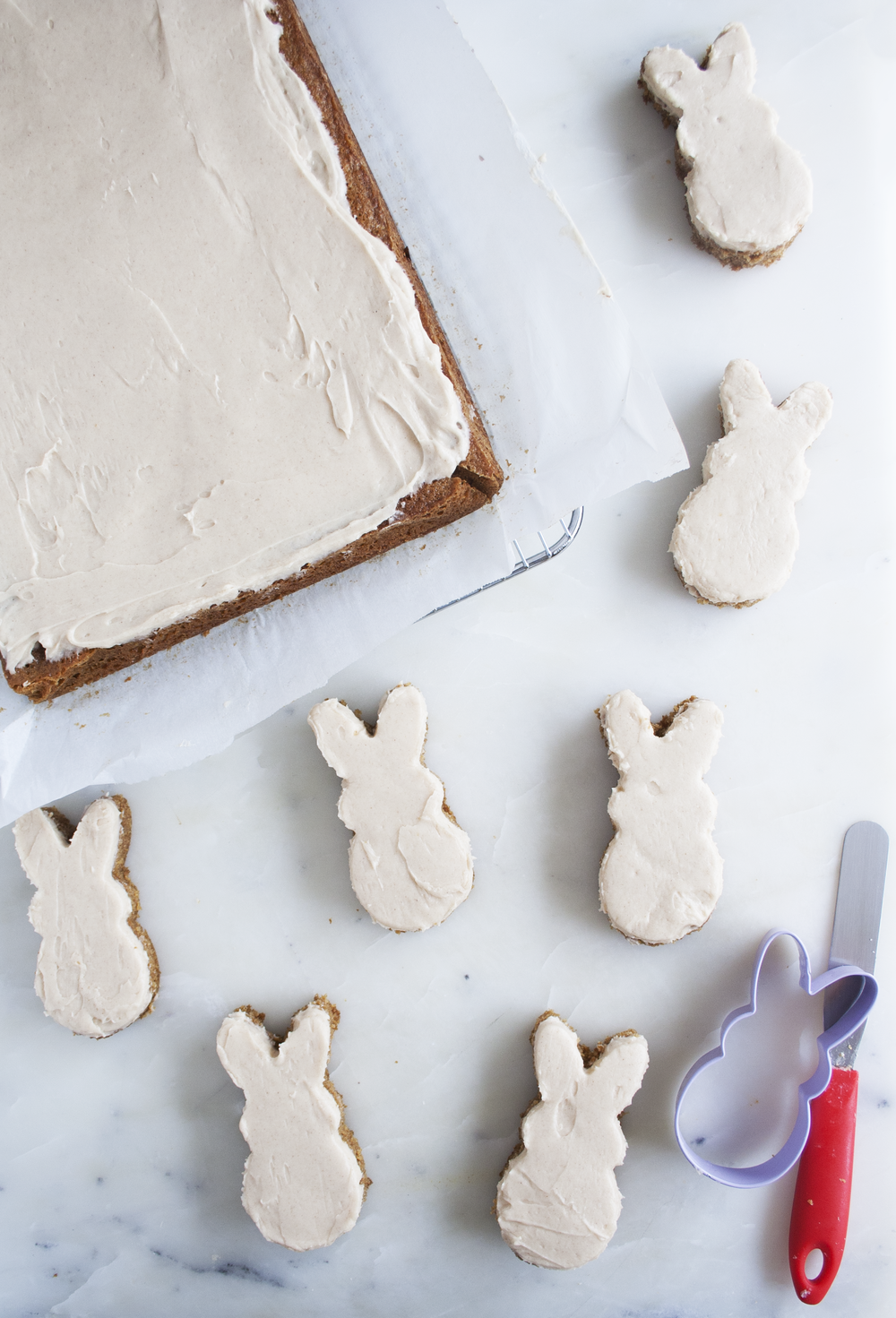 Carrot Cake Bunnies | Sarah Makes Stuff