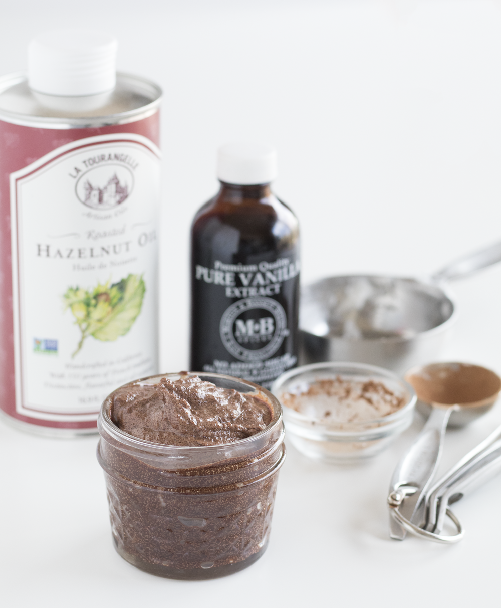 Cocoa Hazelnut Body Scrub | Sarah Makes Stuff