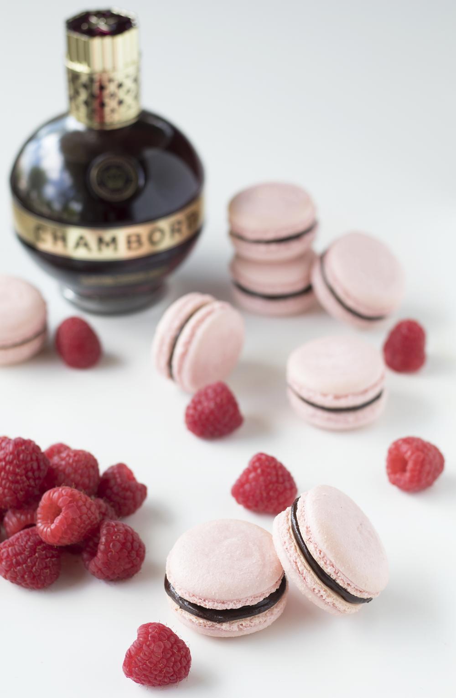 Chambord Macarons | Sarah Makes Stuff