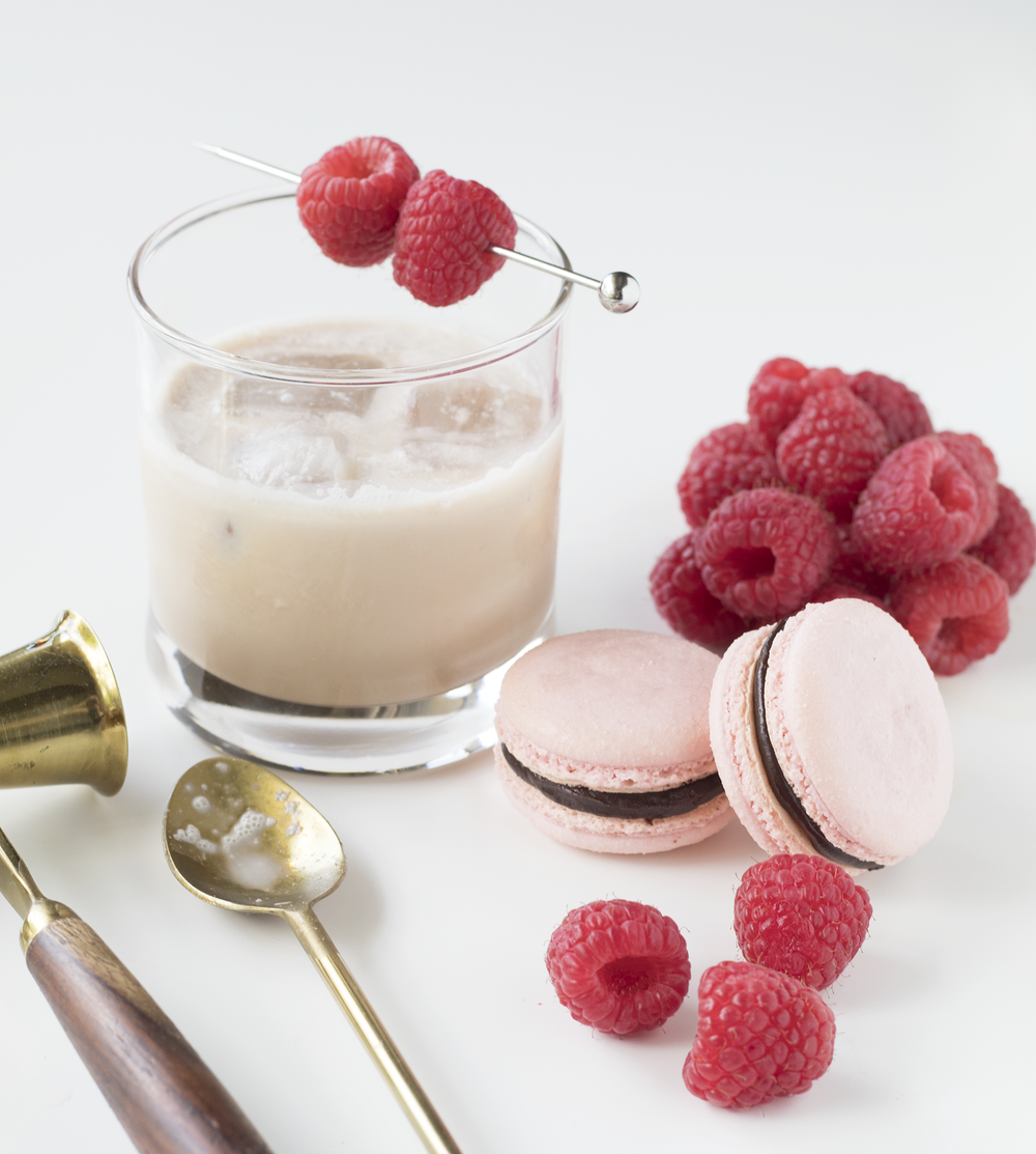 Chambord Macarons & White Russian | Sarah Makes Stuff