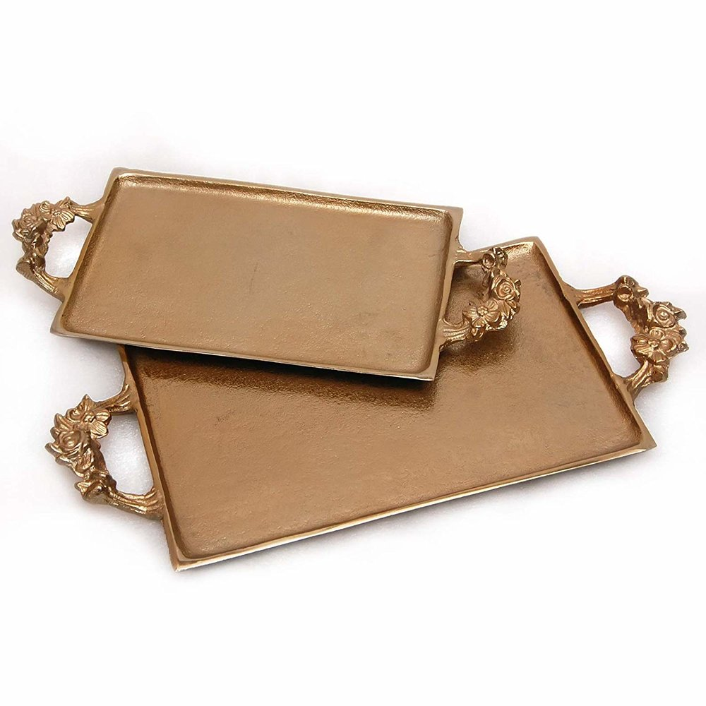 Alexander - Gold Serving Tray