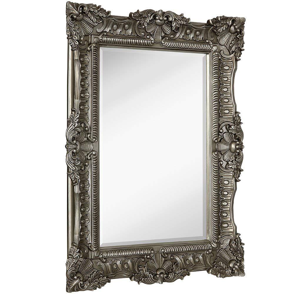 Silver Baroque Wall Mirror
