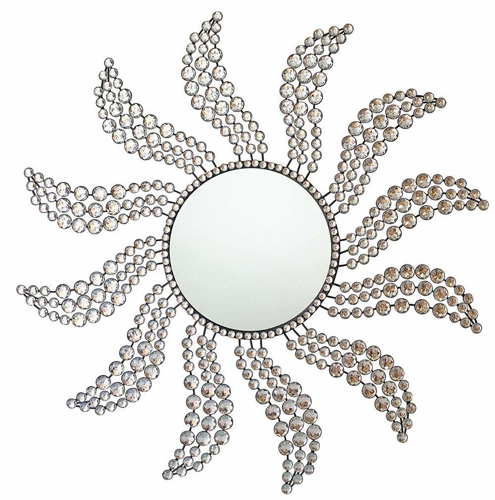 Fancy Sunburst Mirror Frame