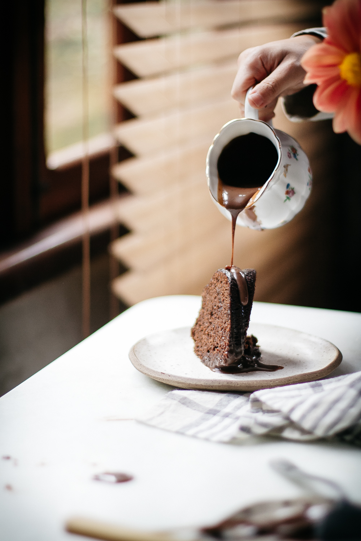 Bolo de Chocolate com Farinha Integral