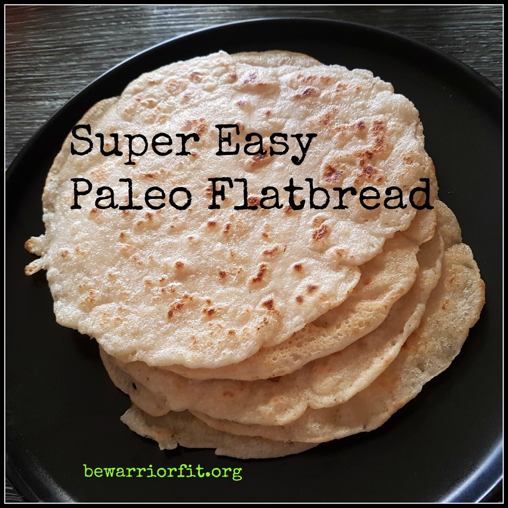 paleo flatbread