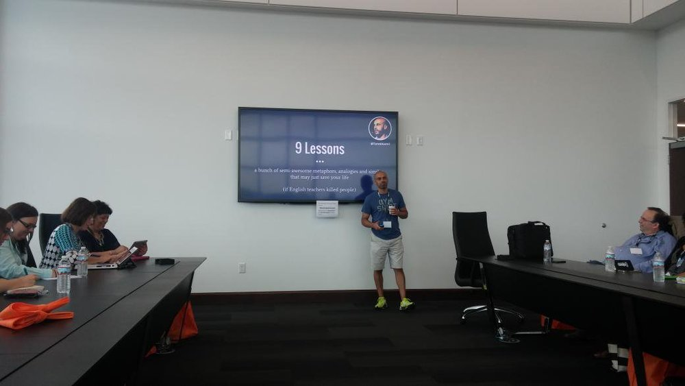 Tarik Kamil 2015 Product Camp Cincinnati Presentation