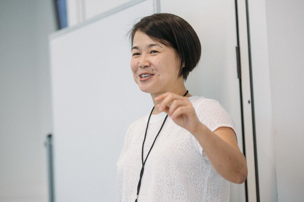 Sarah Tsai 2018 Speaking