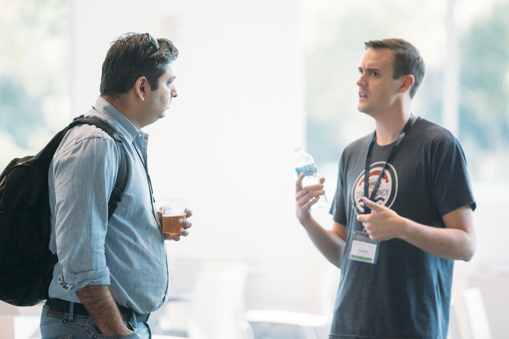 ProductCamp Cincinnati David Hollabaug and Vikram.JPG