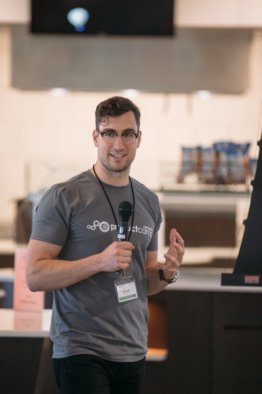 ProductCamp Cincinnati Ryan Willging Speaking 3.JPG