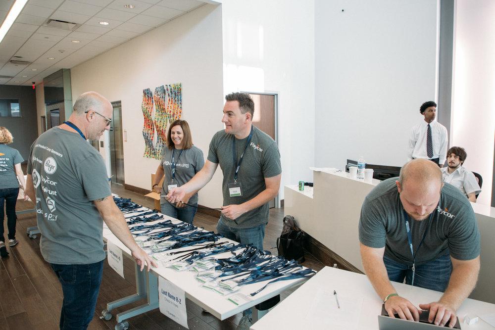 ProductCamp Cincinnati Reception.JPG