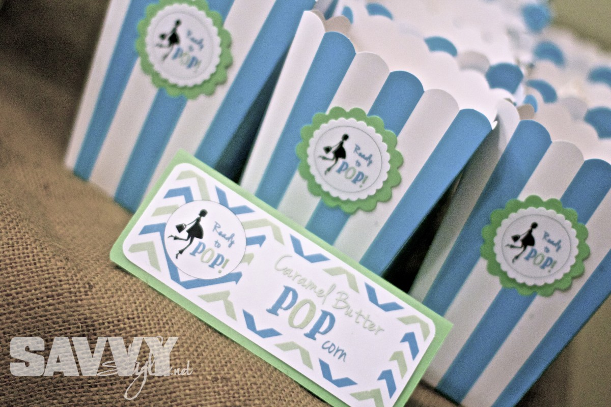 Ready To Pop Printable Package Blue