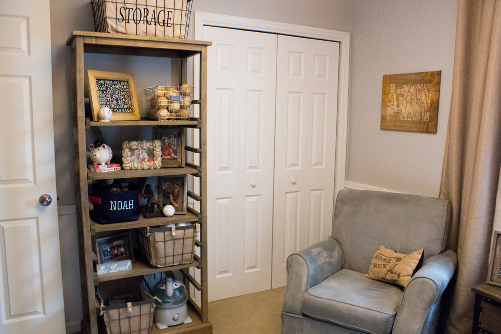 Vintage Baseball Nursery Design Sweetwood Creative Co