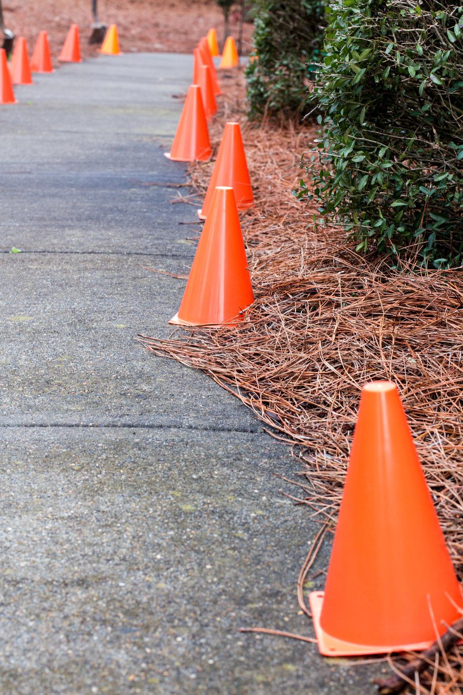 yard-cones