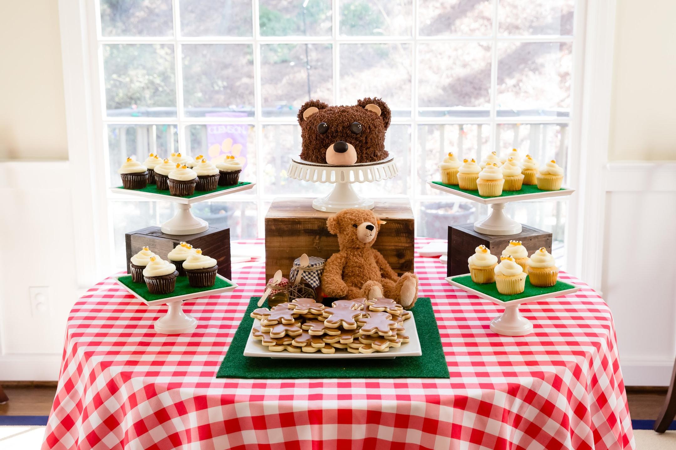 Teddy Bear Picnic First Birthday Teddy Bear