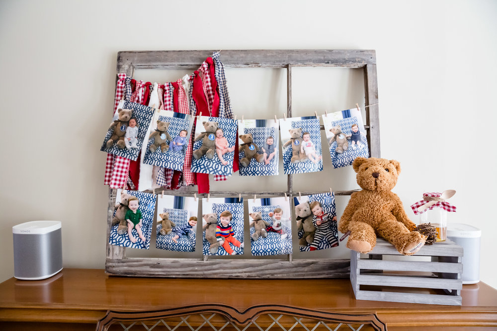 twelve-month-photos-display