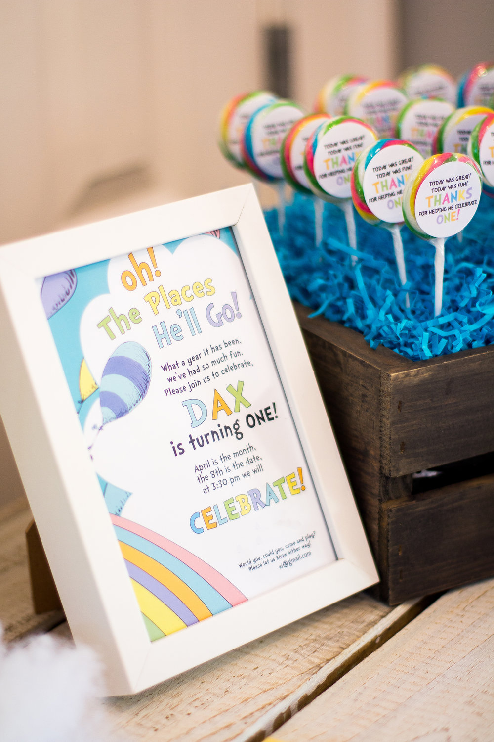 Dr Seuss First Birthday Free Party Favor Printables Sweetwood