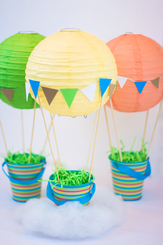 Hot Air Balloon Centerpiece Tutorial Sweetwood Creative Co