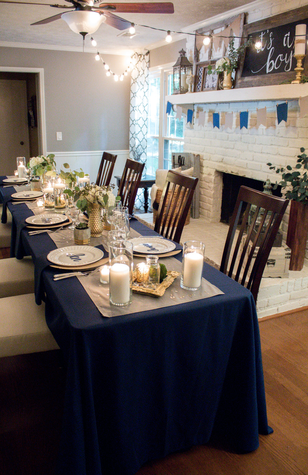 navy-gold-gray-decor