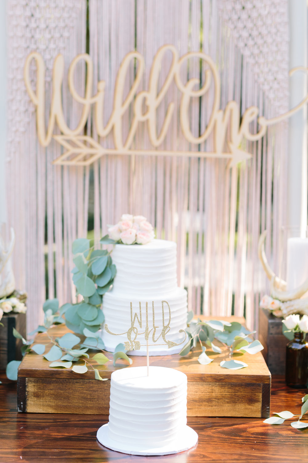 Wild One Boho First Birthday Sweetwood Creative Co