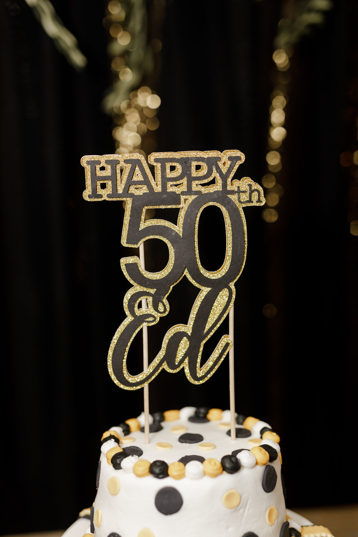 50th-cake-topper