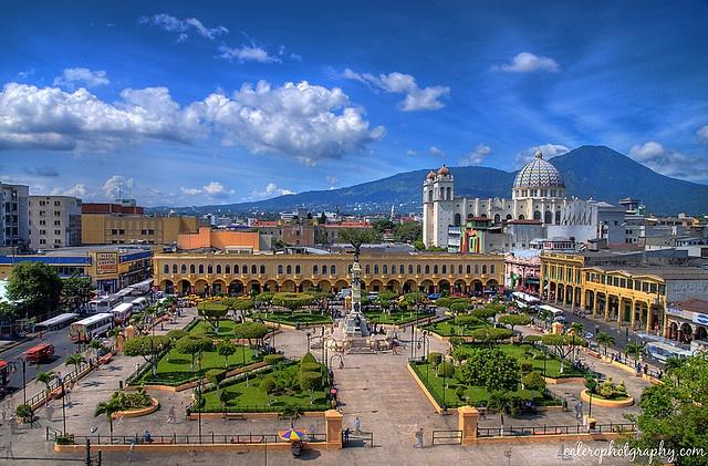 San Salvador Cityscape