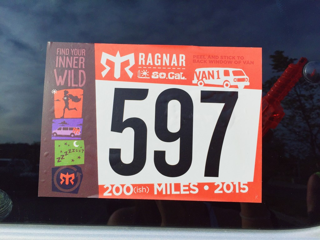 Ragnar Relay on Anything For The Crown