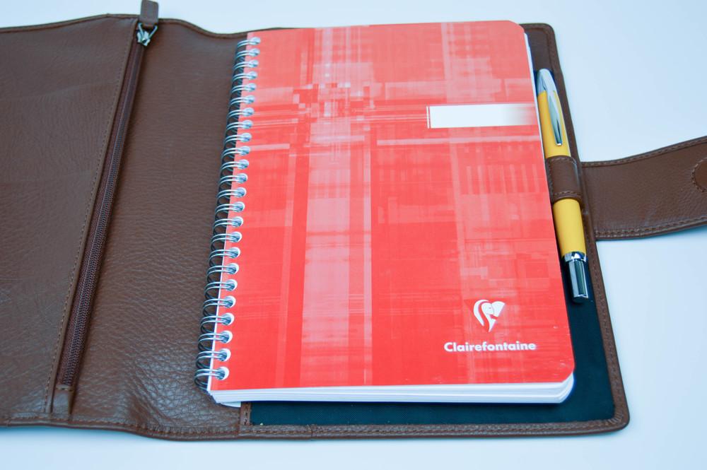 Softfolio 2.0 with Clairefontaine notebook.