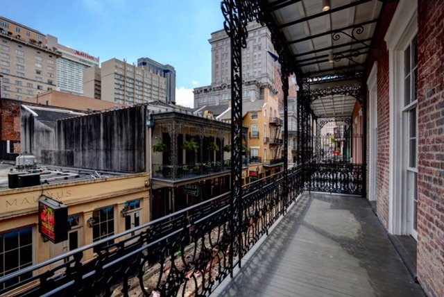Amazing Bourbon St Balconies - Our Meet & Greets will feature BIG and well located balconies so you can watch all of the fun go by on Bourbon St. Great music, sexy people and upscale venues are what make our Naughty events stand out. We make sure our events are private and we have the best staff on the planet on hand to make sure everything runs smoothly.