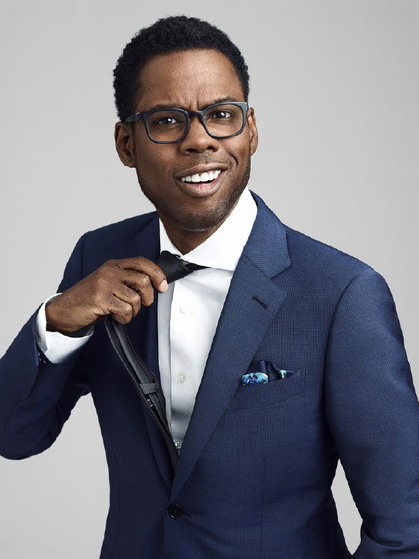 Man of Style: Chris Rock (InStyle, April 2007)