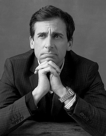 Steve Carell: What Does a Funny Guy Do Besides Work at The Office? (People, July 2, 2007)