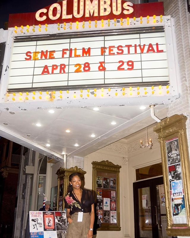 So happy to have screened our film 'Safe Bet' at the 9th @senefest | Thanks for having us! | www.safebetshortfilm.com www.aletheia.la | #senefestival #filmfestival #rhodeisland #movies #films #britishactress