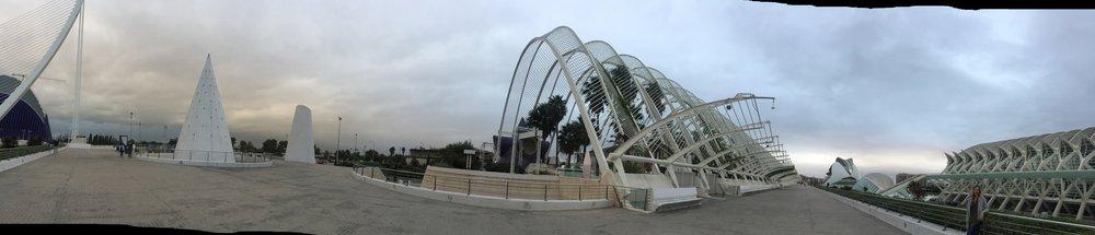 L'Umbracle   Architect:Santiago Calatrava  Location: Valencia, Spain  Photo by : Matt Menendez