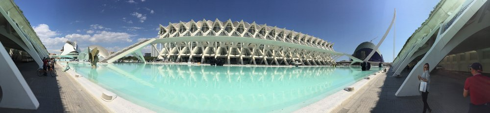 El Museu de les Ciències Príncipe Felipe   Architect:Santiago Calatrava  Location: Valencia, Spain  Photo by : Matt Menendez