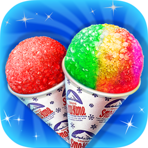 Snow Cone Designer: Food Chef - It's hot! Oh it's HOT in here! Don't you feel like you're missing something? Something totally awesome? Something REFRESHINGLY COLD??!