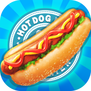 Hot Dog Maker - Street Food Game - Is there a more perfect street food than the hot dog? A hotdog is a neatly wrapped item that is easy to eat on the go. It can be as simple as adding a bun and a little ketchup or more complex.