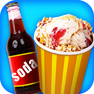Ice Cream Soda! - Free Icey Cooking Games - Ice cream float party time! Not much in life beats a tasty ice cream soda float! Except for over 20 flavors of ice cream and soda! Can you make the creamiest and yummiest combinations ever?