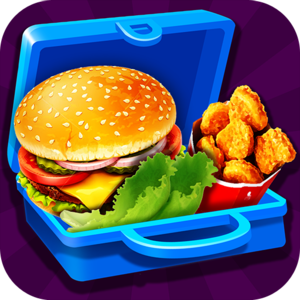 Lunch Box Maker : School Food! - Choose foods that are healthy for a great way to feel good! This game is designed for KIDS to help kids learn all the different food choices there are for a great school lunch!