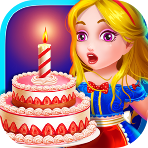 Alice Tea Party in Wonderland - Fairy Tale Cake - Are you ready for a tea party with Alice and her friends? Well, you better get ready for a zany and magical time! Bake up some tasty treats to keep everyone happy in this fairy tale cooking game!
