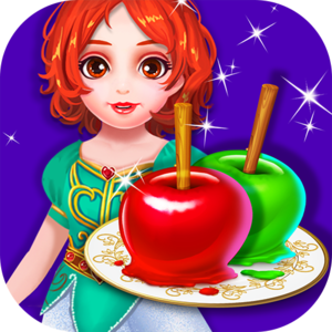Delicious Tale: Candy Apple Maker's Adventure - Become the beautiful princess Snow White and use her skills in the kitchen to create sweet foods. If you cook just right, your food will help save the day!