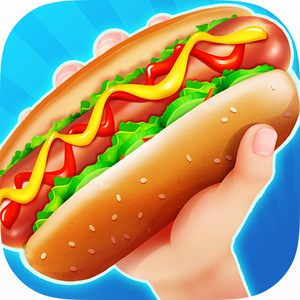 SUPER Hot Dog Food Truck! - Is there a more perfect street food than the hot dog? Become the ultimate hot dog chef! Jump on your hot dog truck & business will bump!