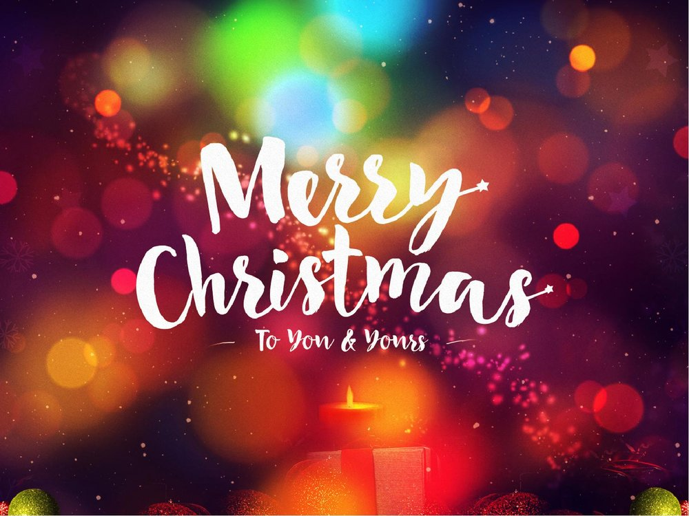 merry christmas to you and your family from all of us at im free church