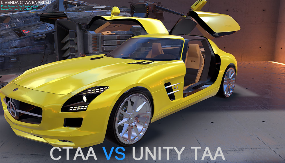 CTAA VS UNITY TAA COMPARISON DEMO